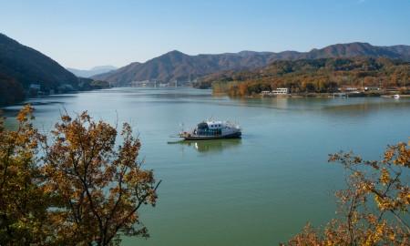 「孝情瑪麗娜遊船示範試航」加平郡婦女會、老人會及韓國海洋交通安全公會