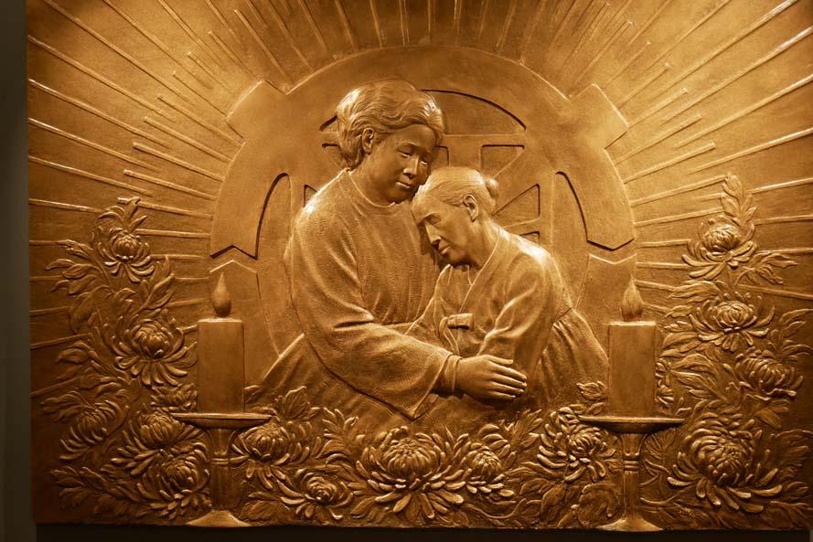 天寶苑的隆重奉獻儀式